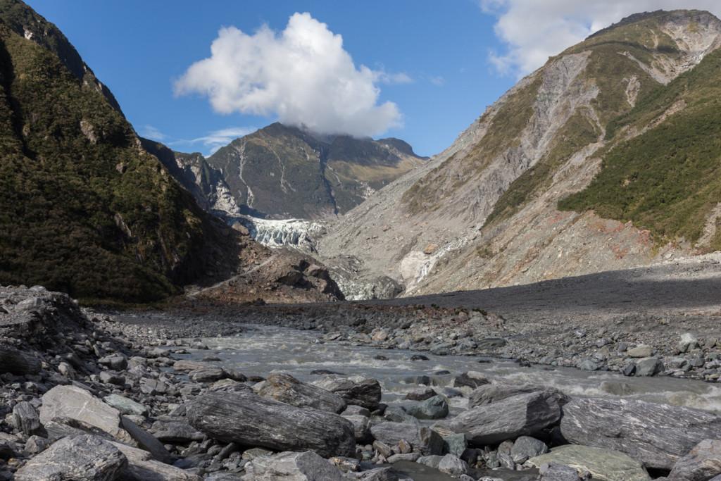 Wanderweg zum Fox Glacier