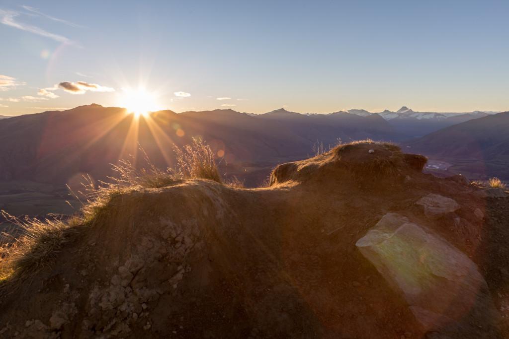 Sonnenuntergang auf dem Roy's Peak