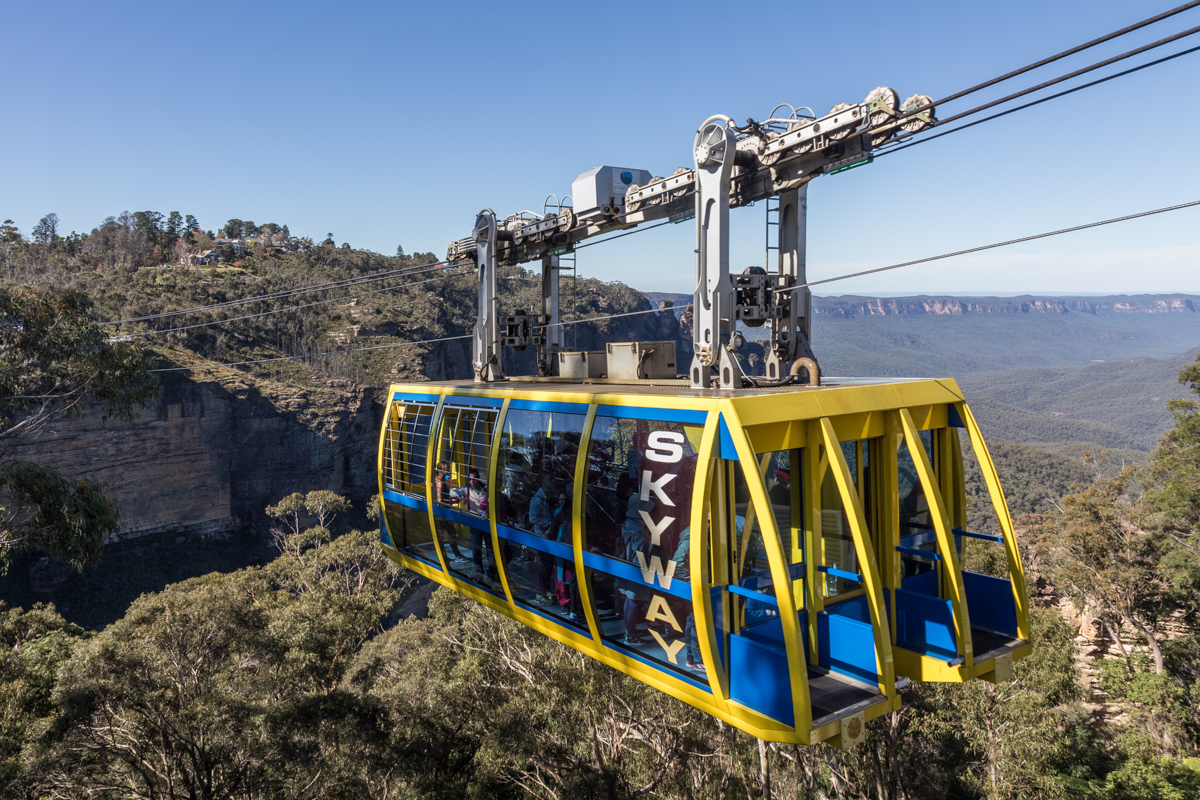 Scenic Skyway in Katoomba