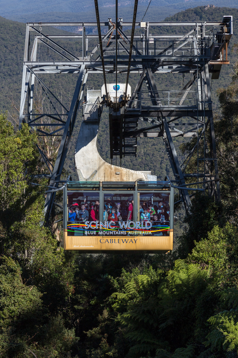 Scenic Cableway in der Scenic World in Katoomba
