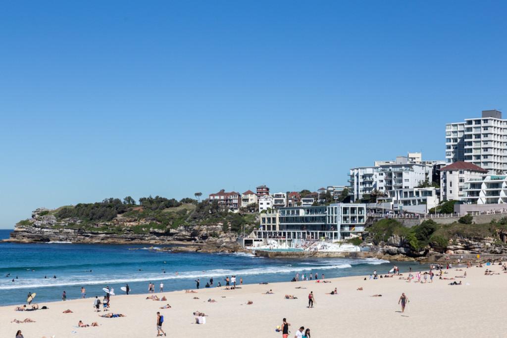 Samstag Nachmittag am Bondi Beach