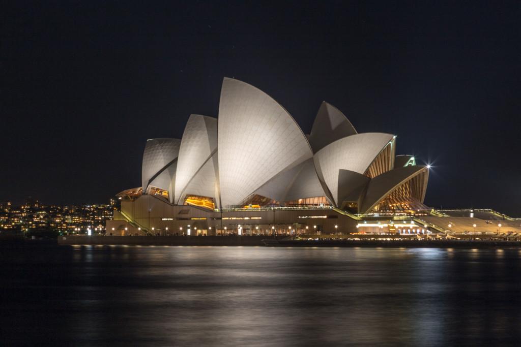 Nächtliches Sydney Opera House
