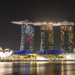 Nächtlicher Spaziergang über das Singapore Street Circuit