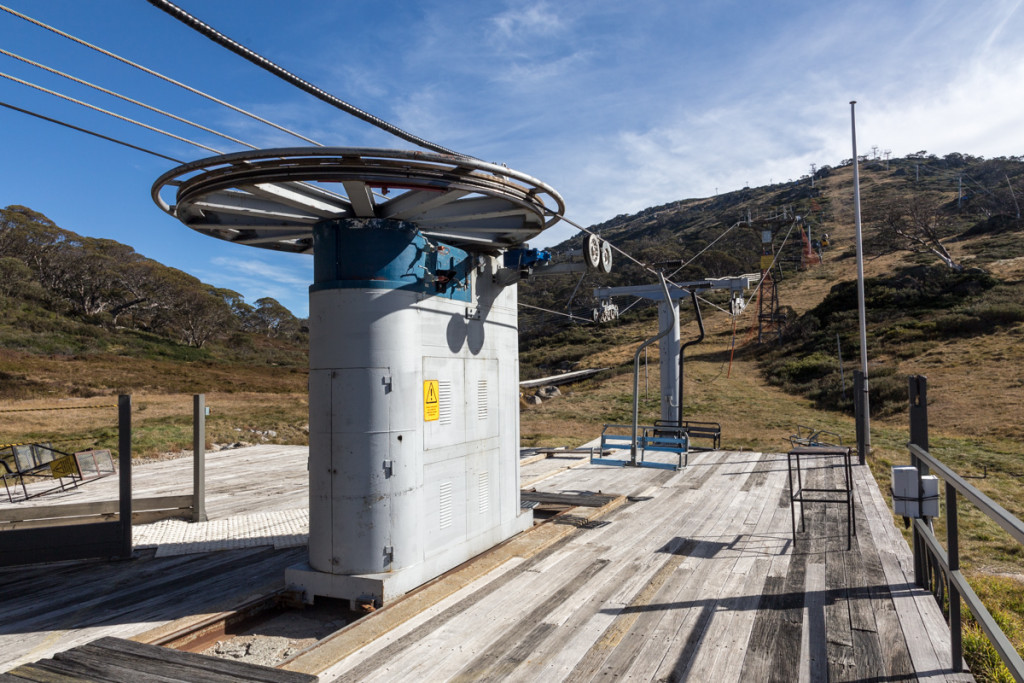 Sesselbahn zum Mount Perisher