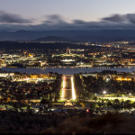 Canberra, die Erste – Nacht auf dem Mount Ainslie