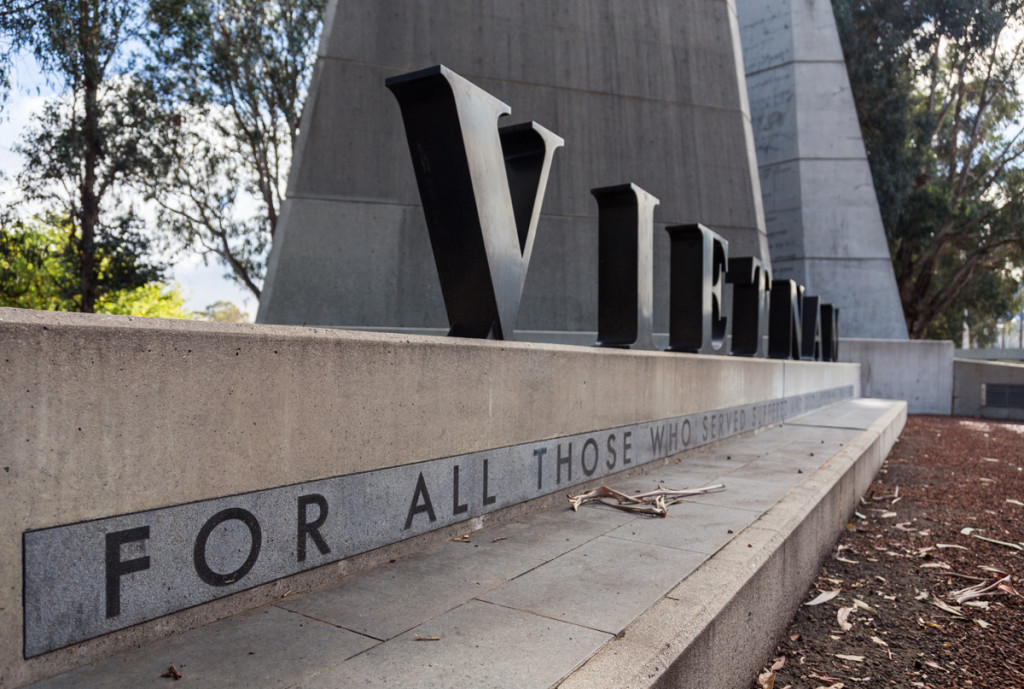 Kriegsdenkmal an der Anzac Parade in Canberra