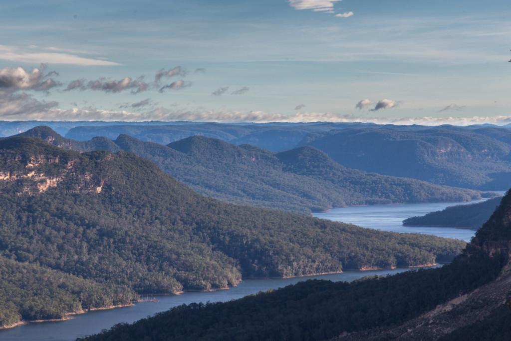 Blick ins Burragorang Valley