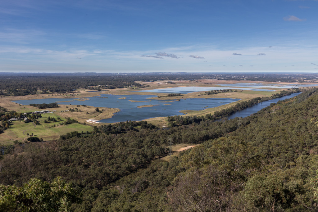 Hawkesbury Lookout in Springwood