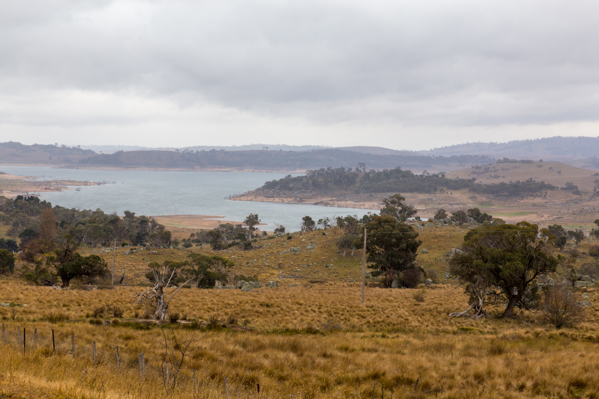 Blick auf den Lake Eucumbene