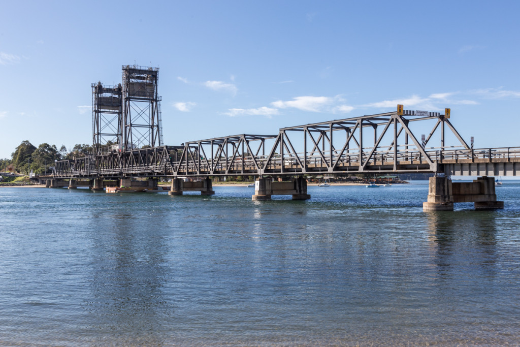 Hebebrücke in Batemans Bay