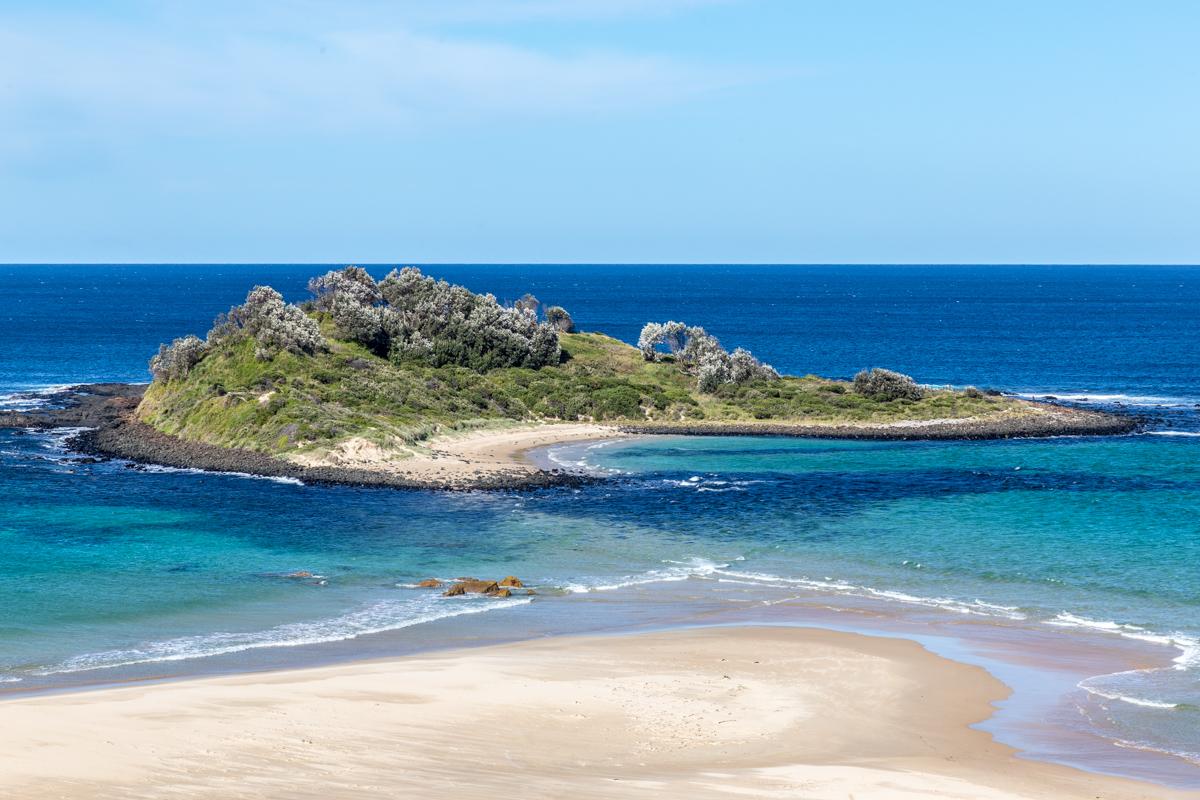 Traumstrände und kristallklares Meerwasser an der australischen Ostküste