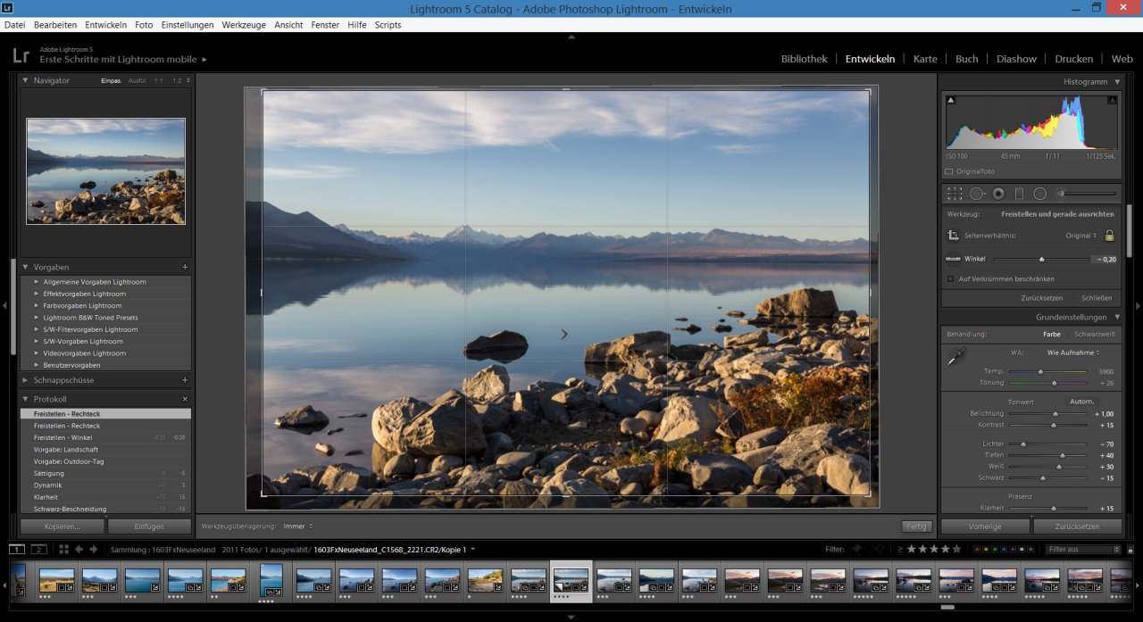 Lightroom Freistellung