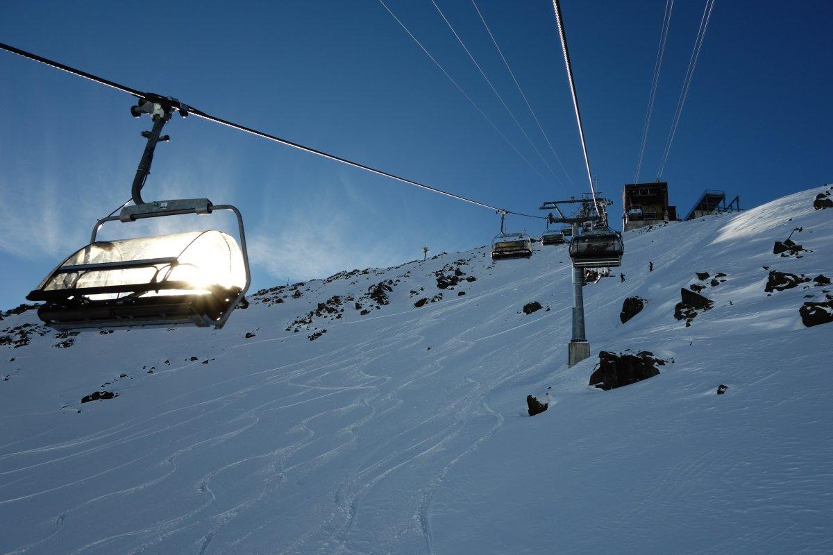 Sesselbahn Totalp im Skigebiet Davos-Parsenn