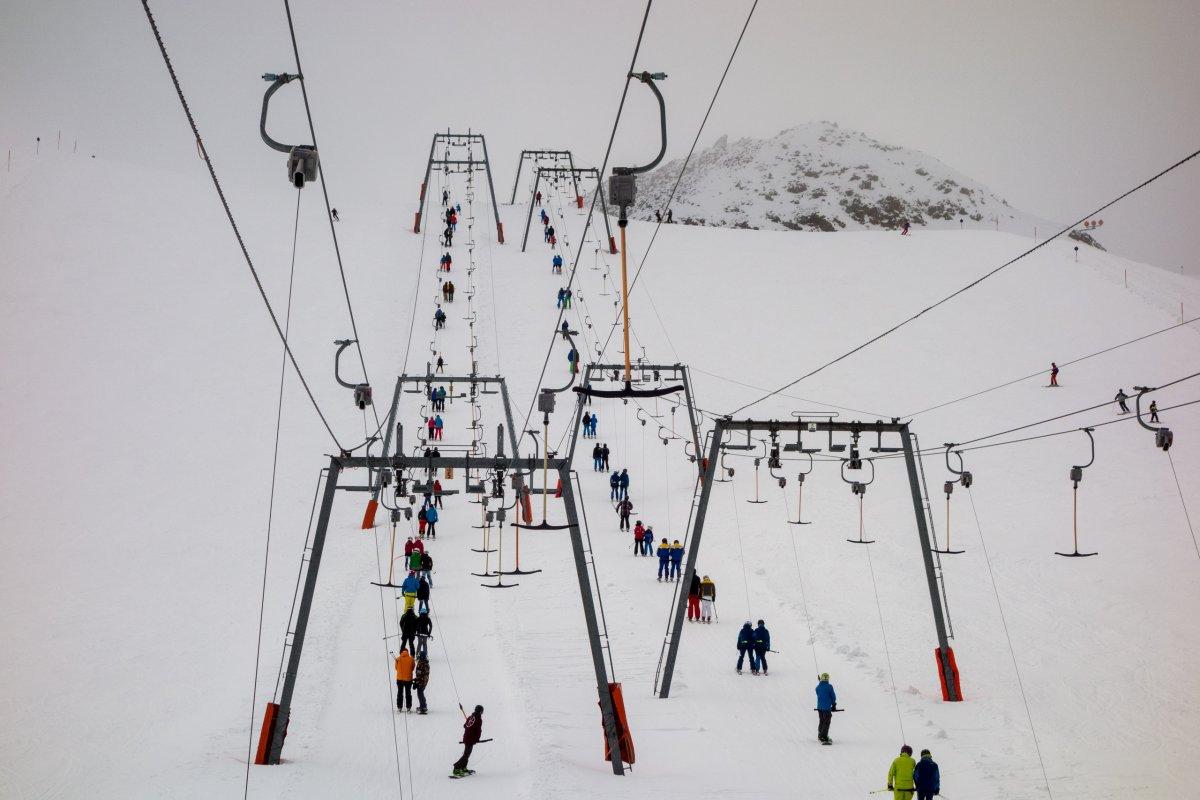 Schlepplifte Olperer am Hintertuxer Gletscher