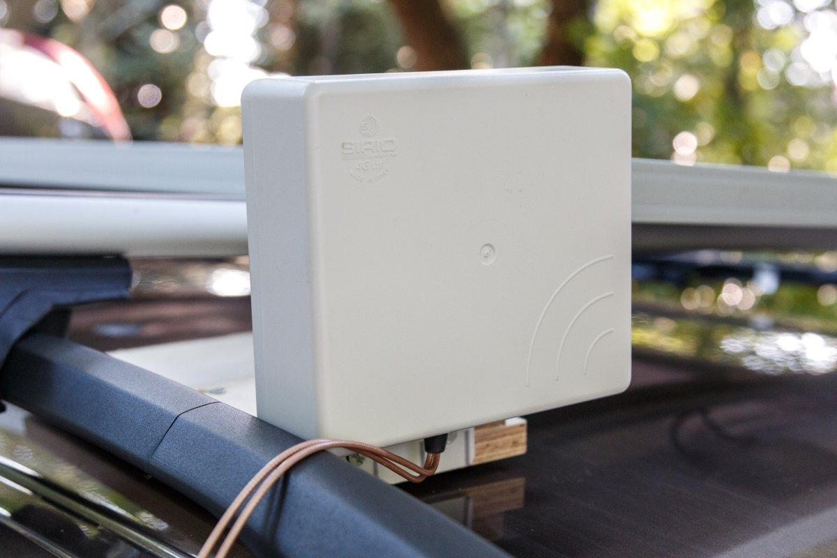 Mobiles Internet WLAN Camping Antenne