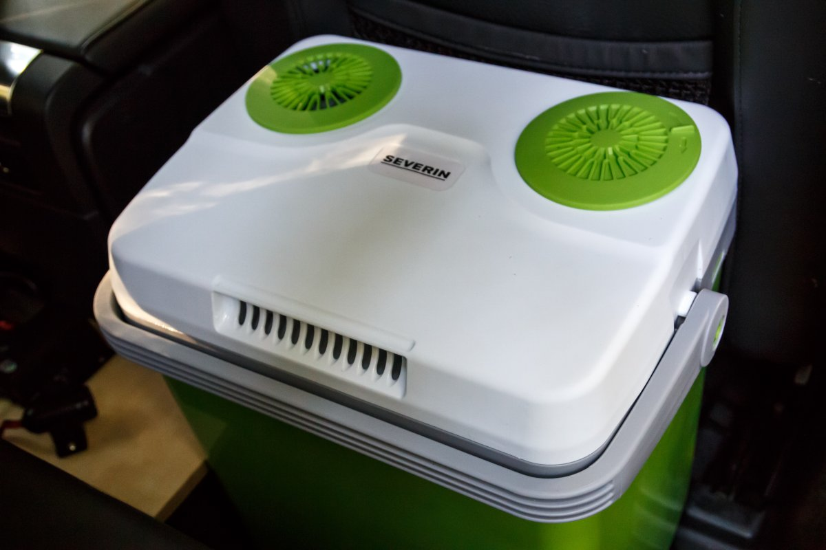 Kühlbox 12V-Anschluss Solaranlage