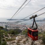 Toulon und die Seilbahn auf den Mont Faron
