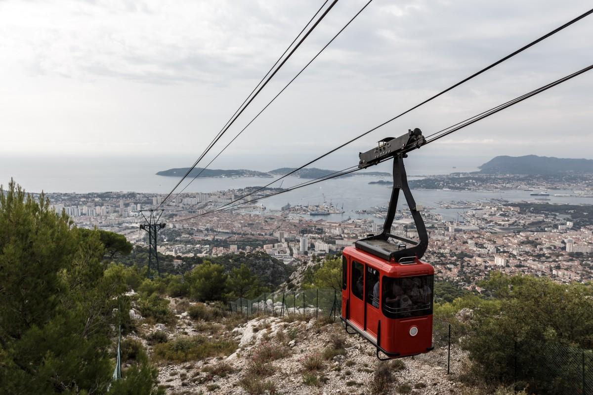 Seilbahn Toulon - Mont Faron