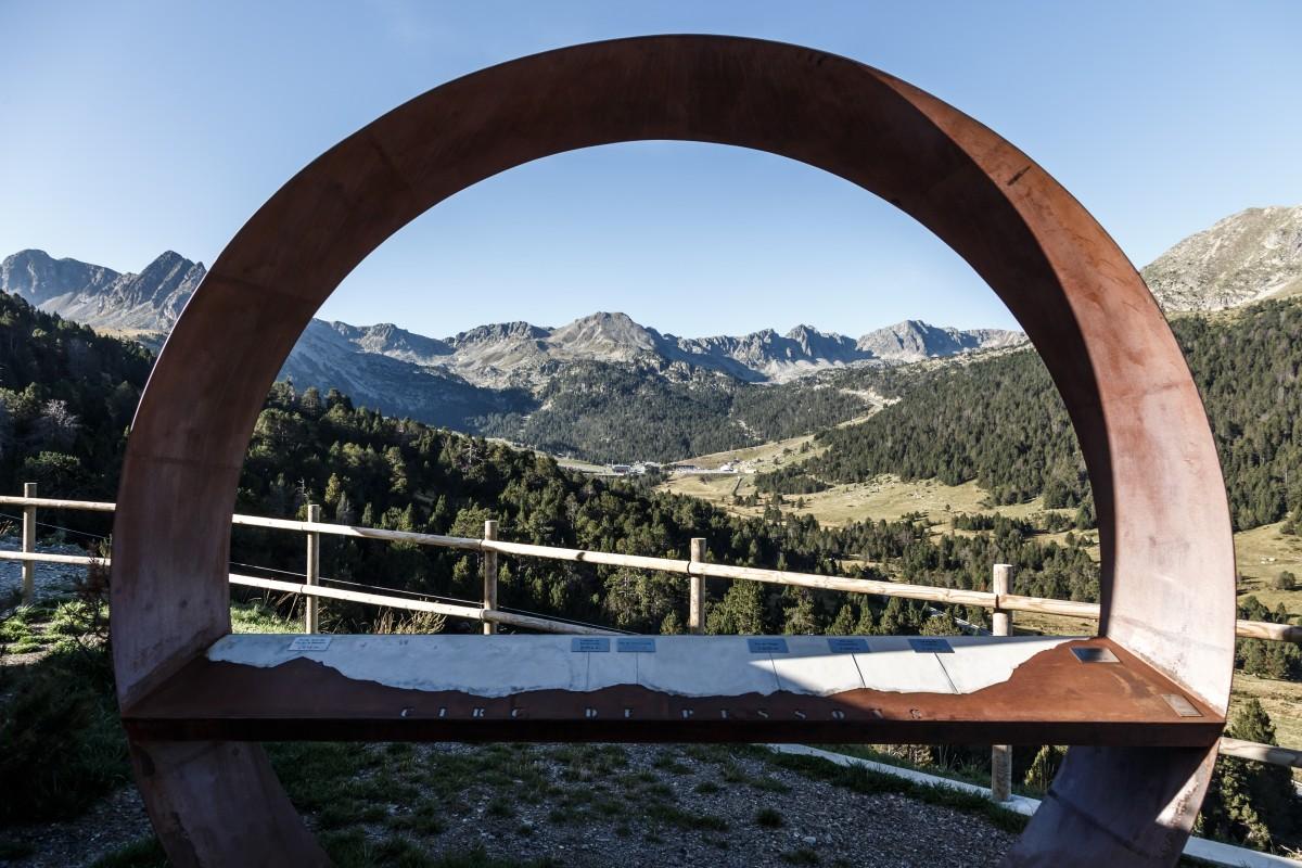 Pyrenäen-Landschaft in Andorra