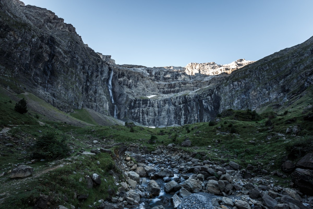 Cirque de Gavarnie am Morgen
