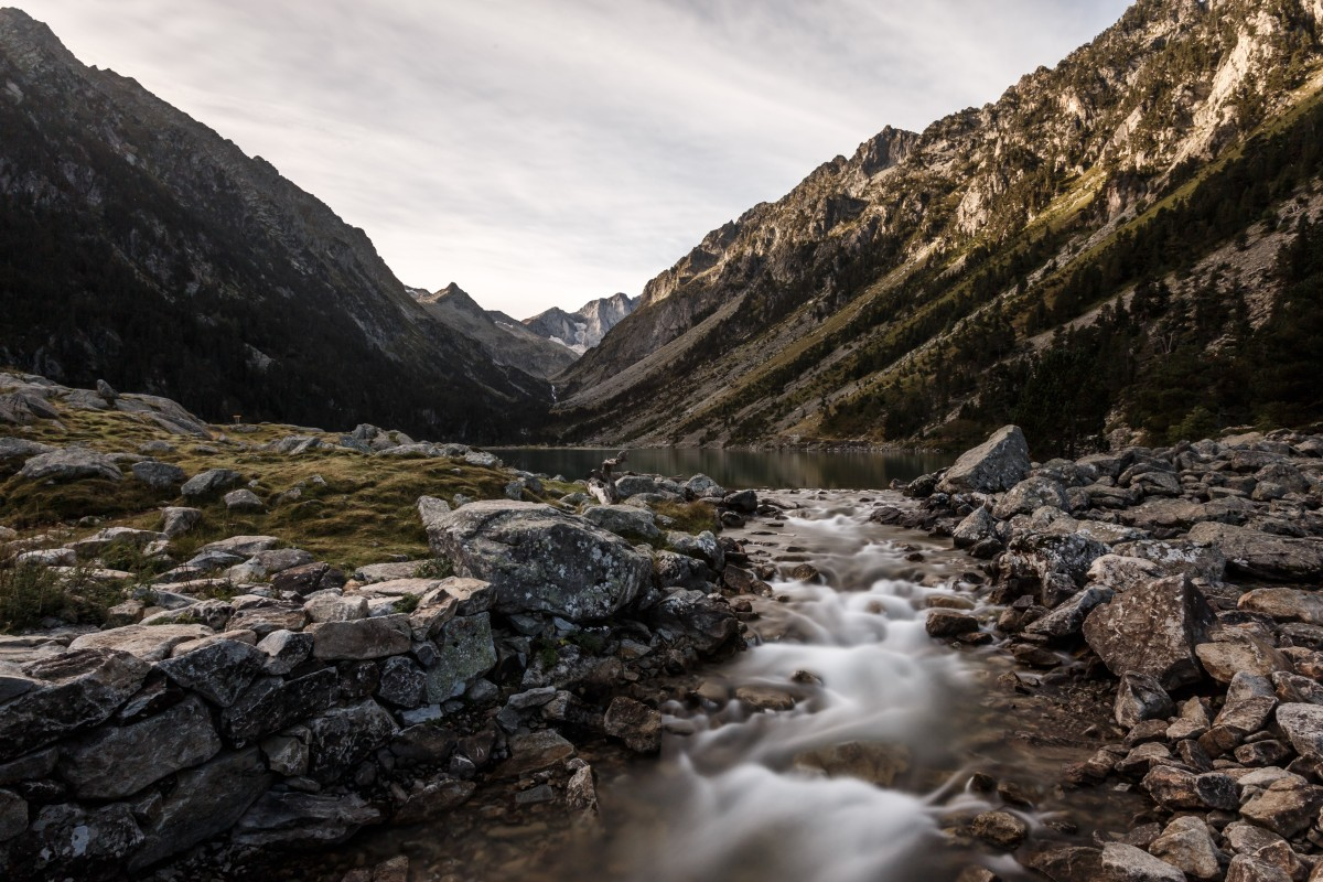 Lac de Gaube im Nationalpark Pyrenäen