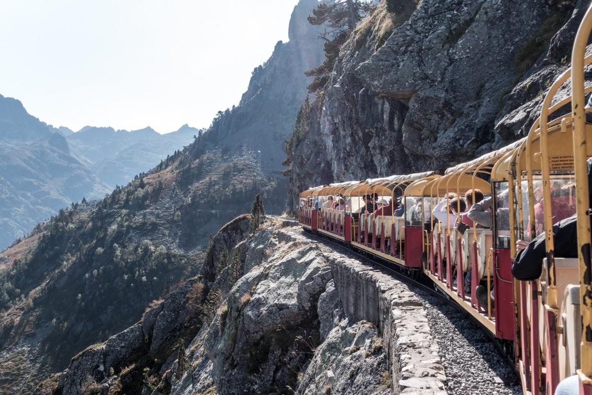 Petit Train d'Artouste in den Pyrenäen