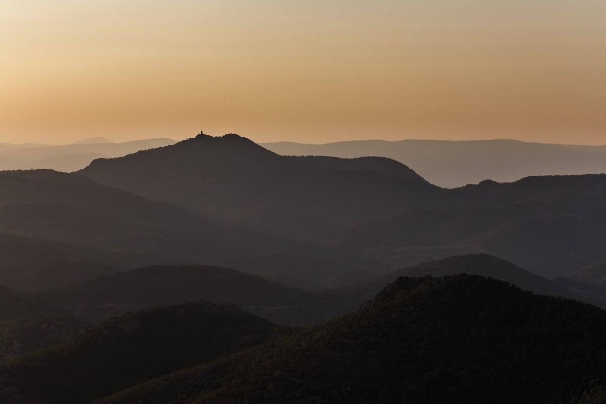 Aussicht vom Pic du Cap Roux