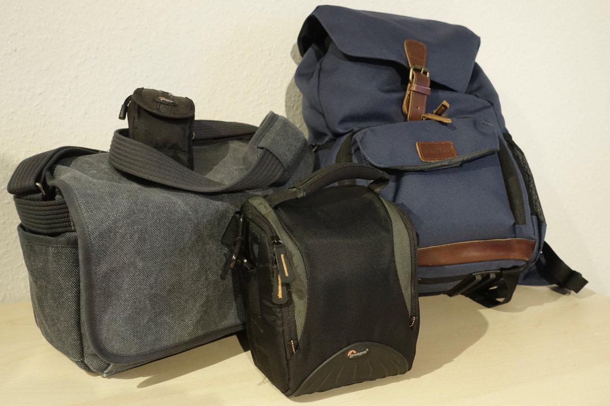 Fototaschen und Rucksäcke für die Reisefotografie