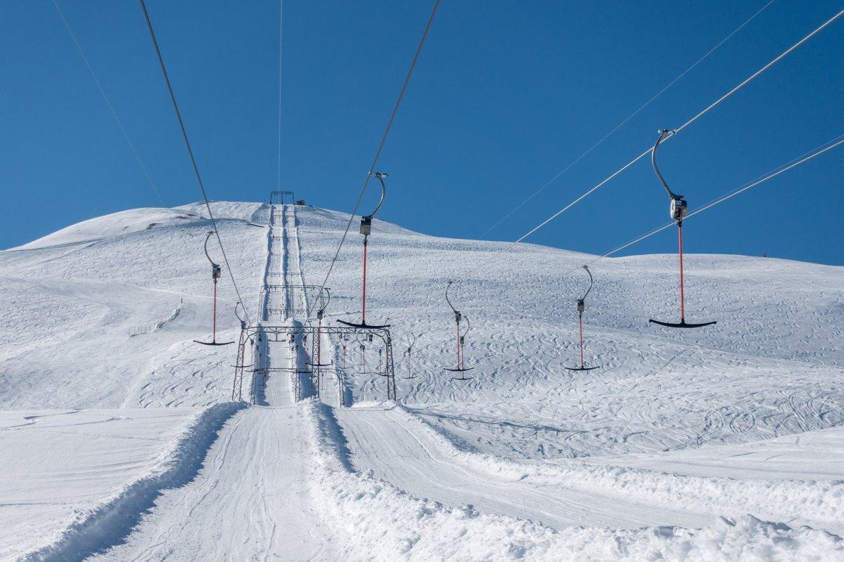 Skilift zum Piz Cartas in Savognin