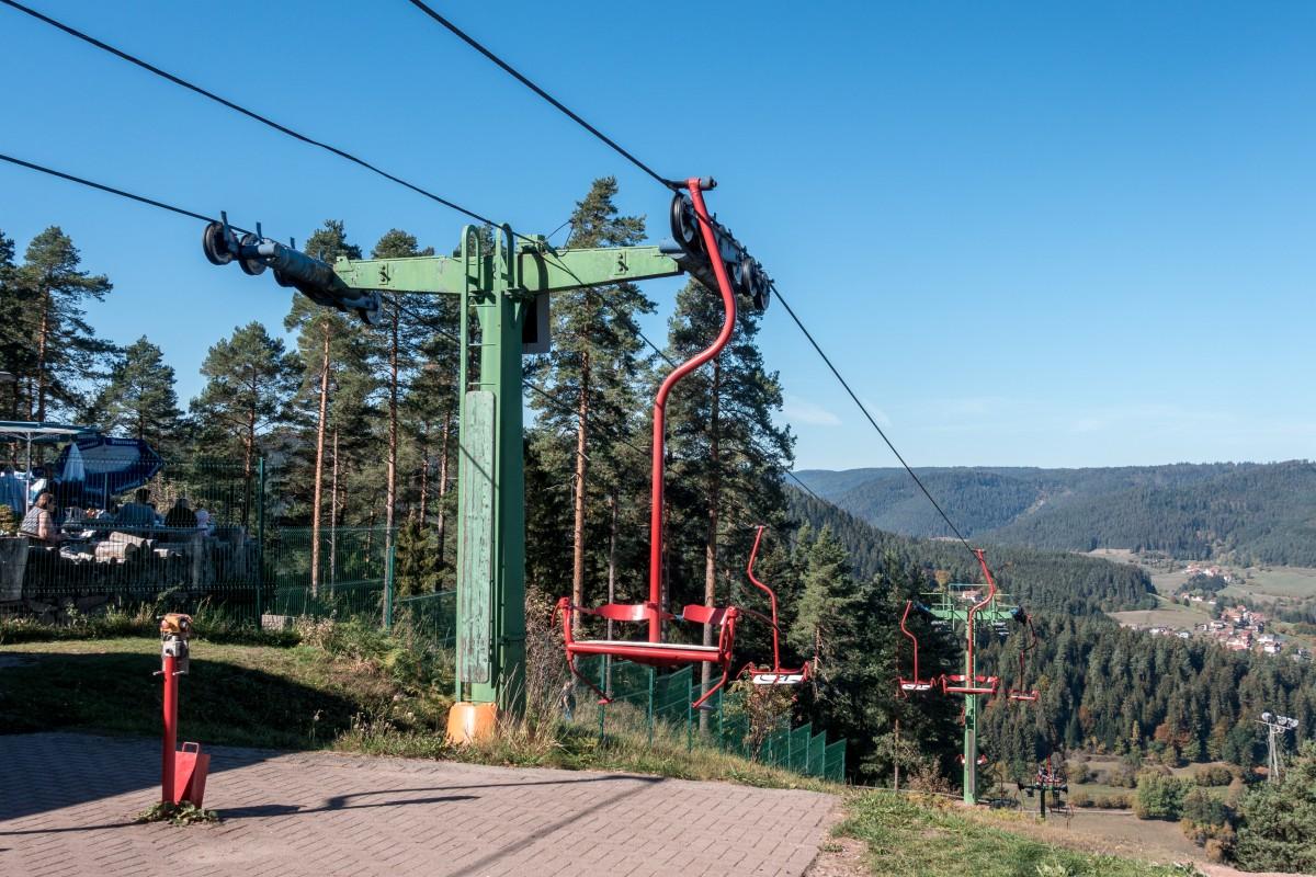 Die Sesselbahn auf den Stöckerkopf in Baiersbronn