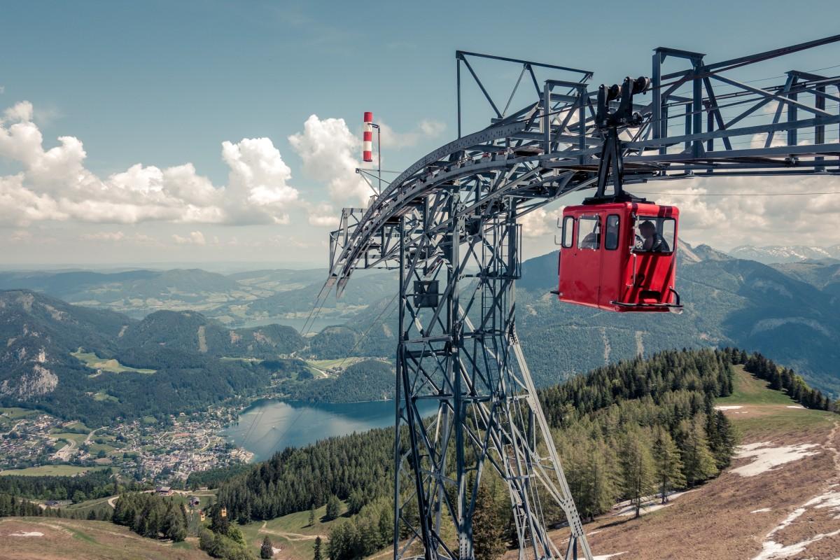 Zwölferhornbahn in St. Gilgen - Österreichs Nostalgie-Seilbahn