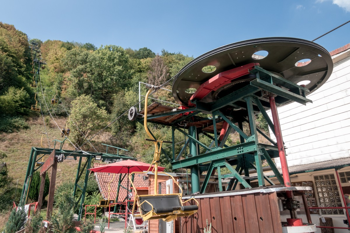 Mit der Sesselbahn von Bad Lauterberg auf den Hausberg