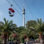 Die Seilbahn im Westfalenpark in Dortmund