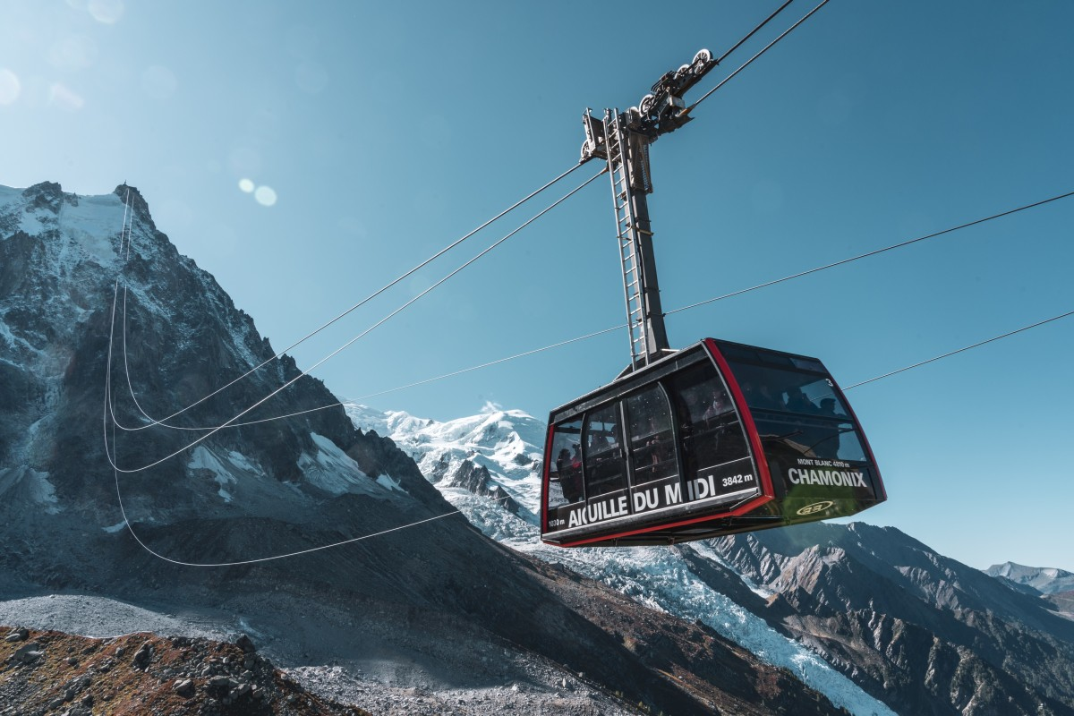 Aiguille du Midi - Seilbahn der Superlative in Chamonix