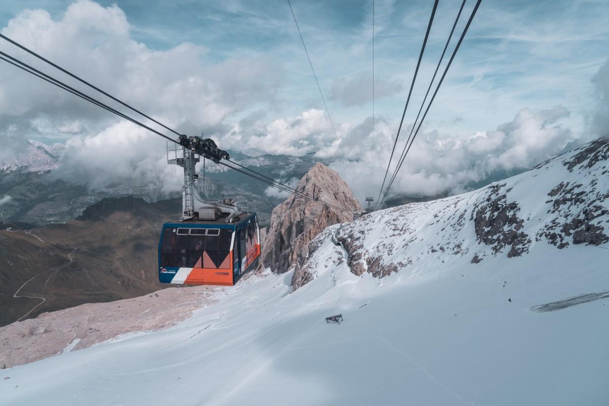 Marmolada – Mit der Seilbahn aufs Dach der Dolomiten
