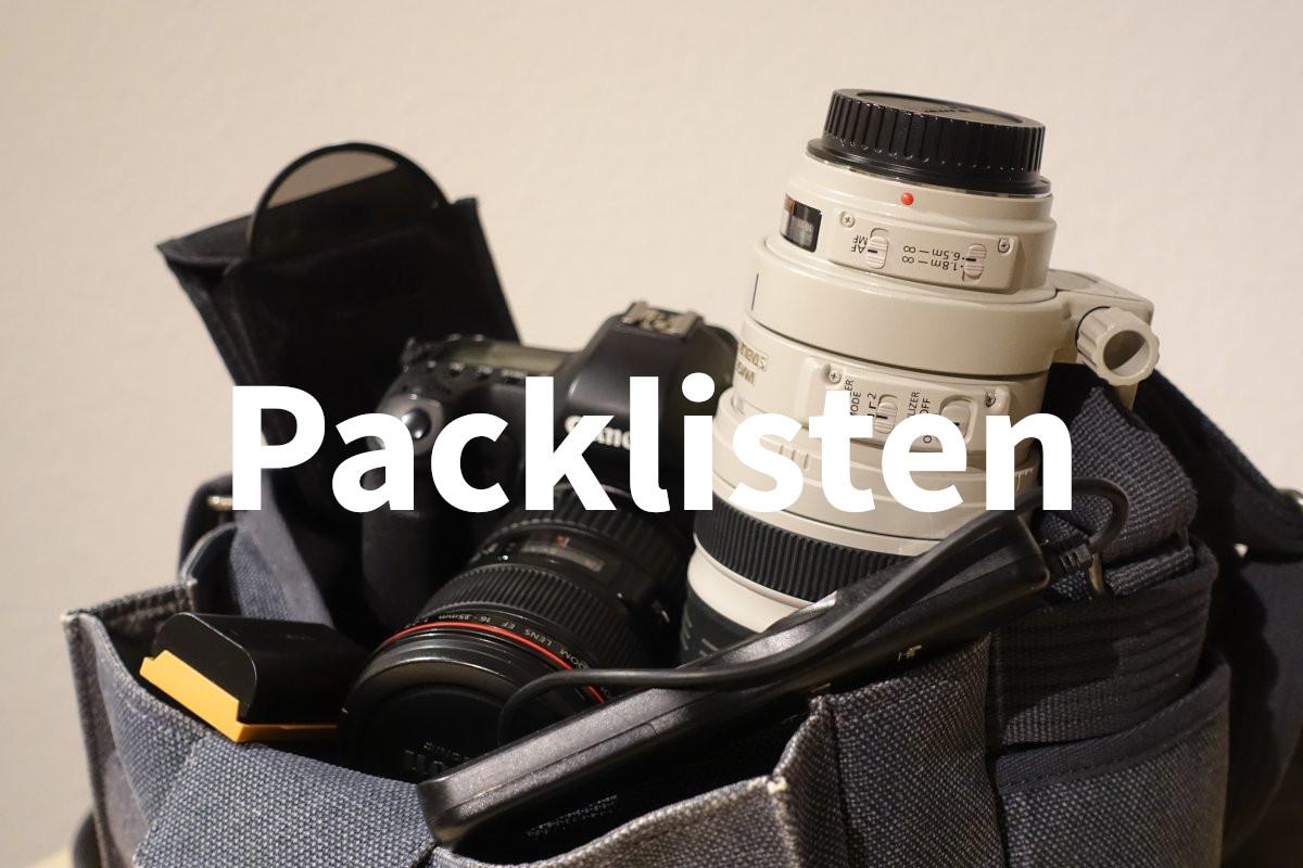 Packlisten