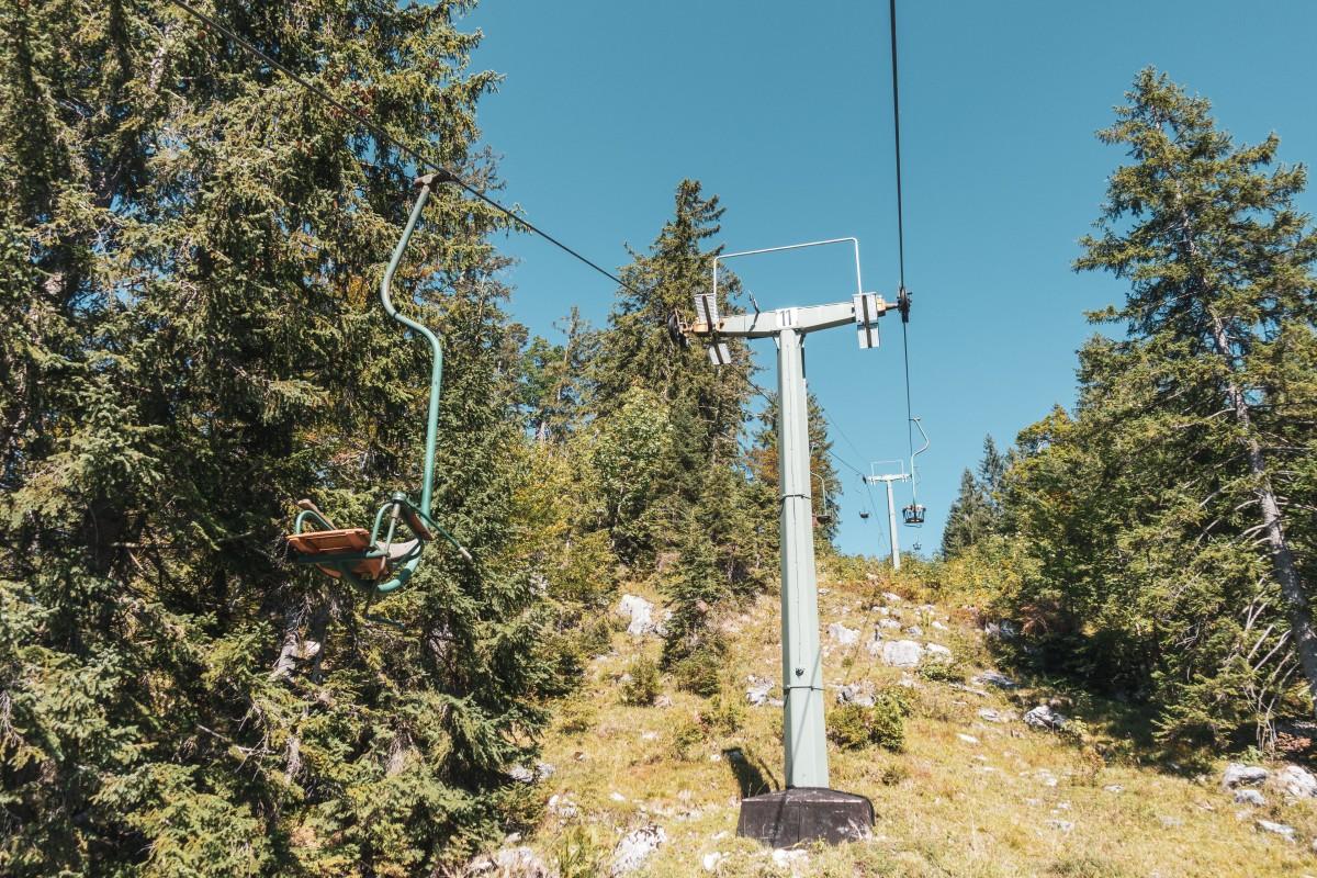 Dürrnbachhorn - Nostalgie-Sesselbahn auf der Winklmoosalm