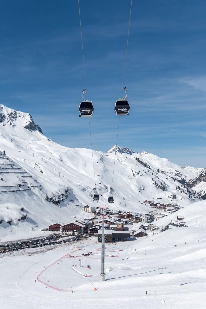 Skifahren in Zürs am Arlberg