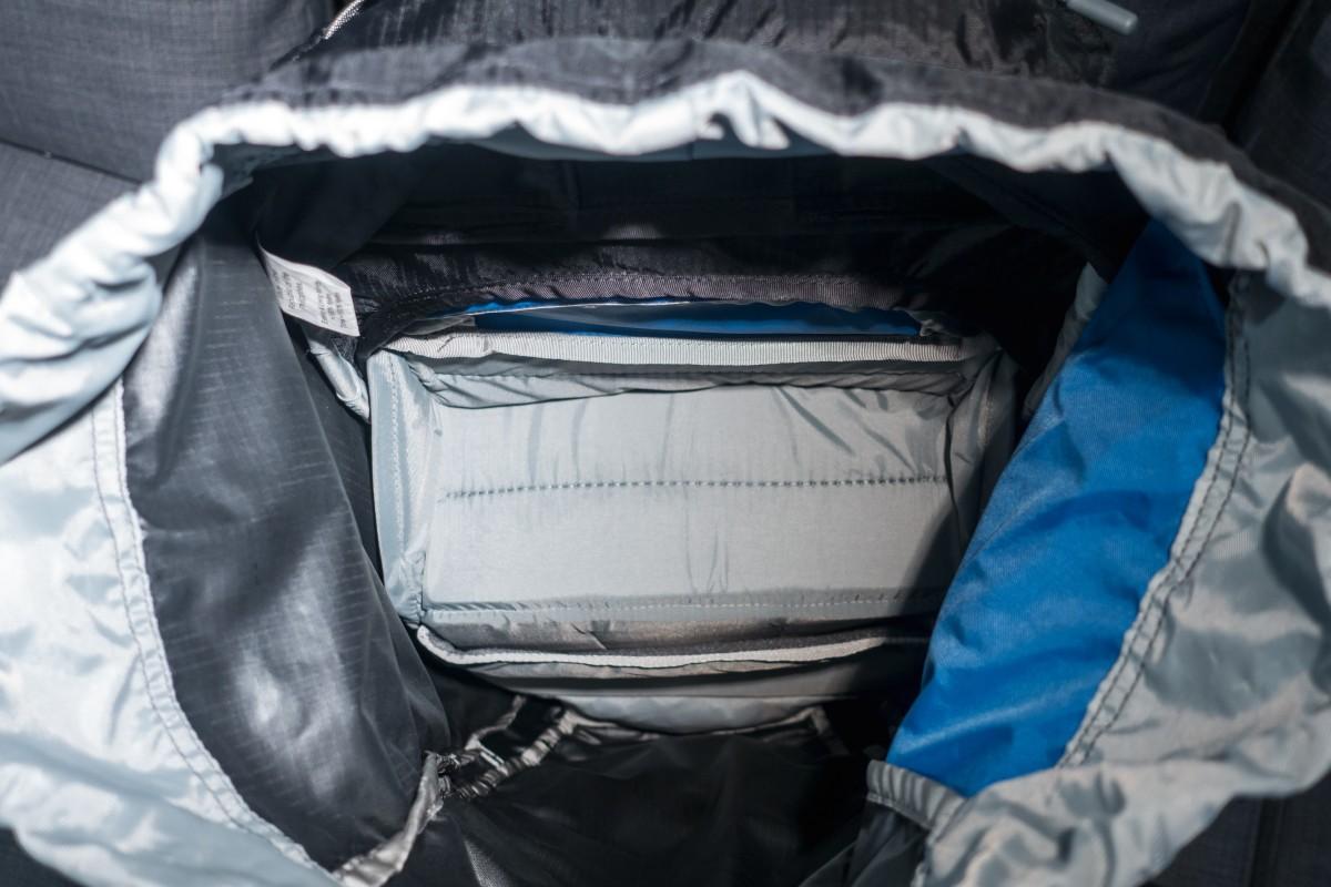 Hauptfach des Atlas Athlete Fotorucksack mit Laptopfach