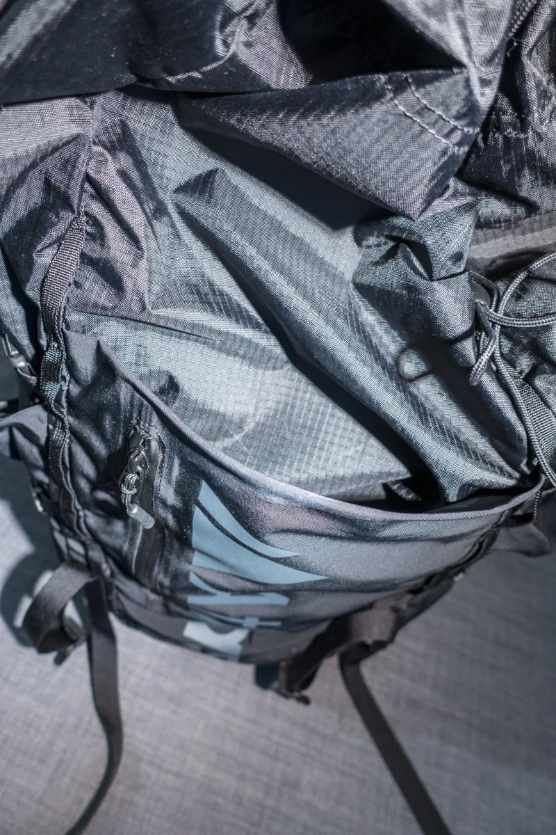 Taschen auf der Vorderseite
